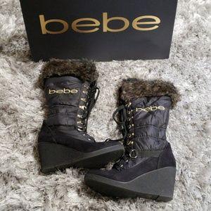 Bebe logo boots